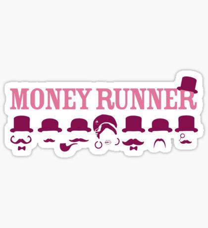 Moneyrunner - Logo T-shirt Sticker