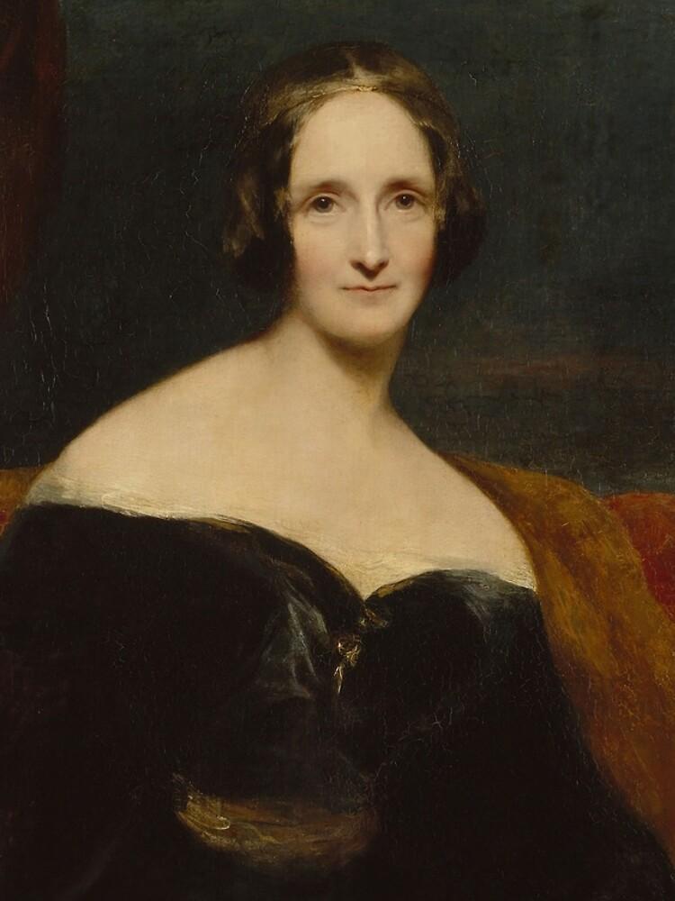 Mary Shelley by daltonrowe