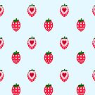 Strawberry Tiles by Claire Greenhalgh