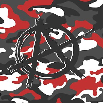 Anarchy - Camouflage Red by GR8DZINE