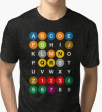 Camiseta de tejido mixto Nueva York