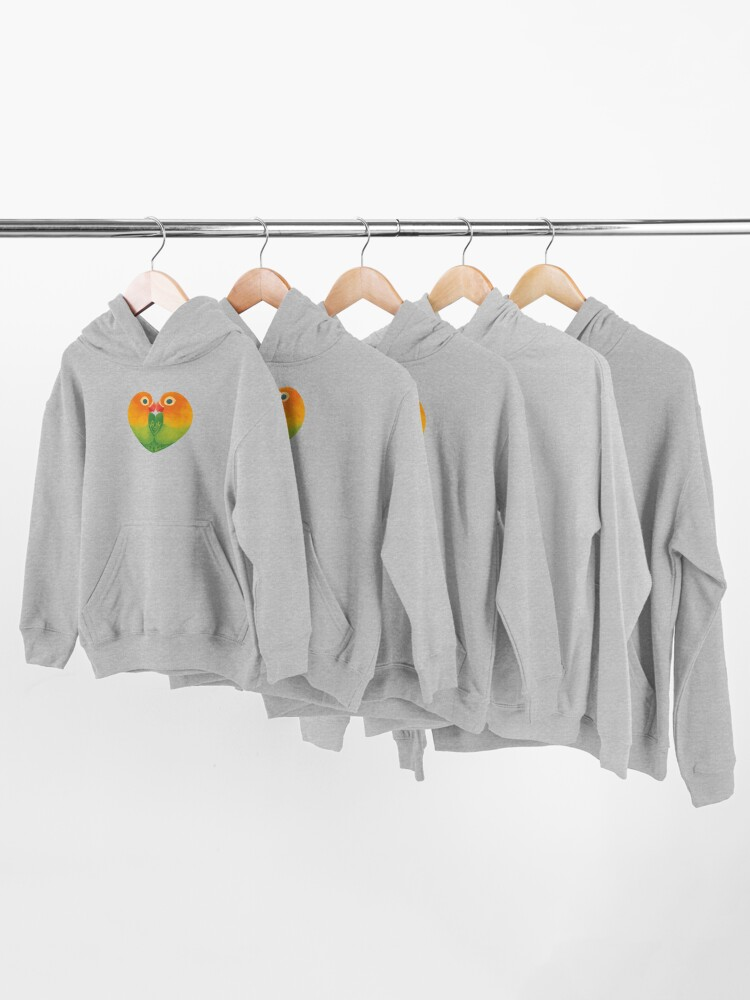 Alternate view of Lovebirds Kids Pullover Hoodie