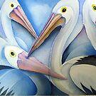 Pelicans by Karin Zeller