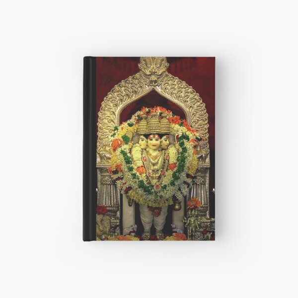 The Deities of India - Lord Dattatreya Hardcover Journal