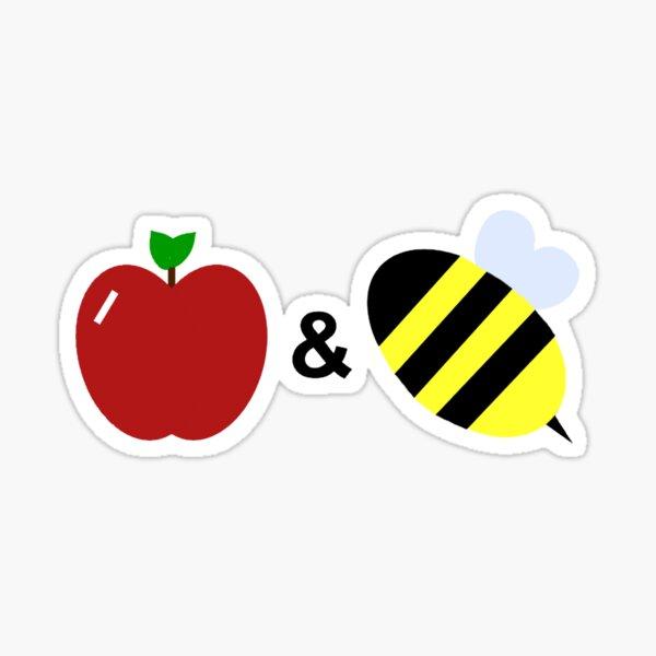 Apples & Bees Sticker