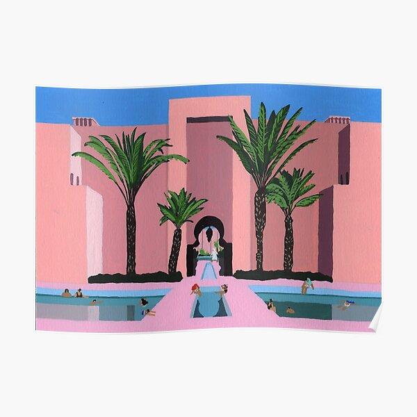 Abu Dhabi dip Poster