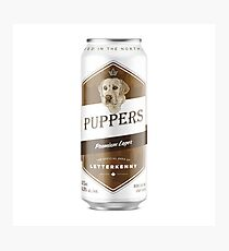 Puppers, Officially Wayne's favourite beer. Photographic Print