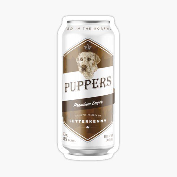 Puppers, Officially Wayne's favourite beer. Sticker