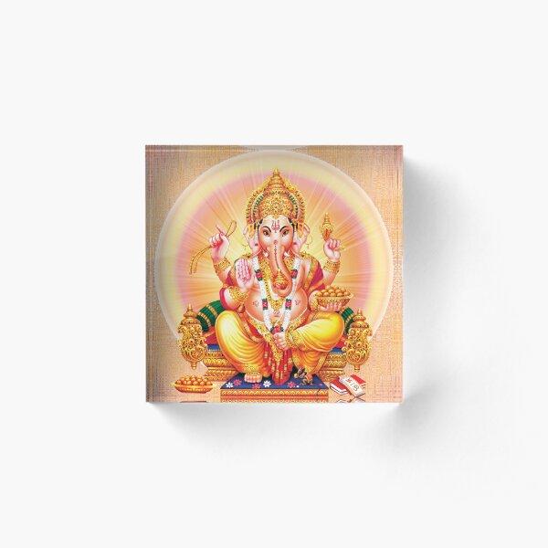 Ganesh , Vinayak , Ganesh Acrylic Block