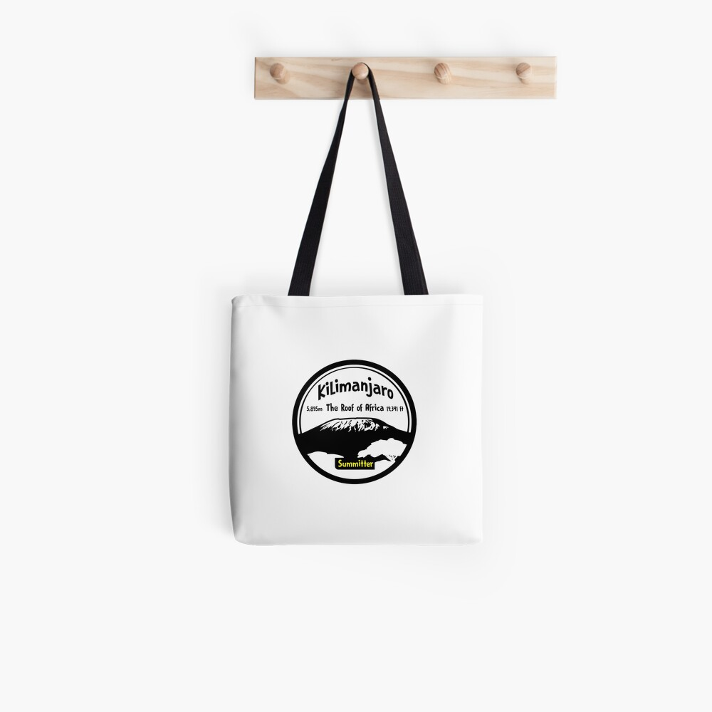 Kilimanjaro Summitter - The Roof of Africa Tote Bag