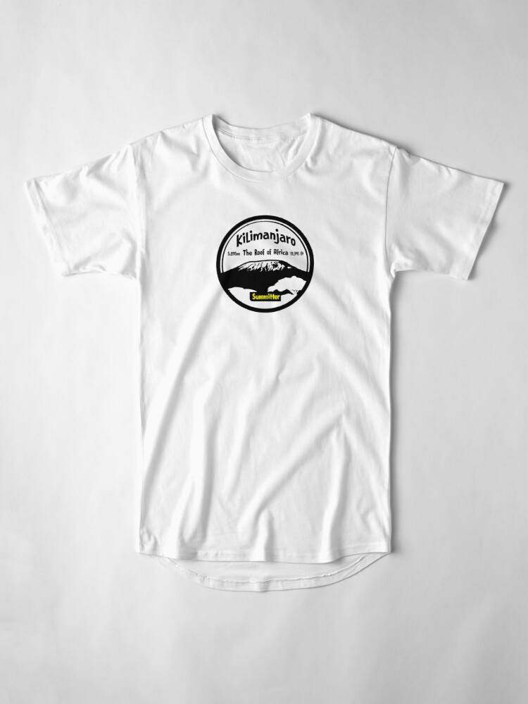 Alternate view of Kilimanjaro Summitter - The Roof of Africa Long T-Shirt