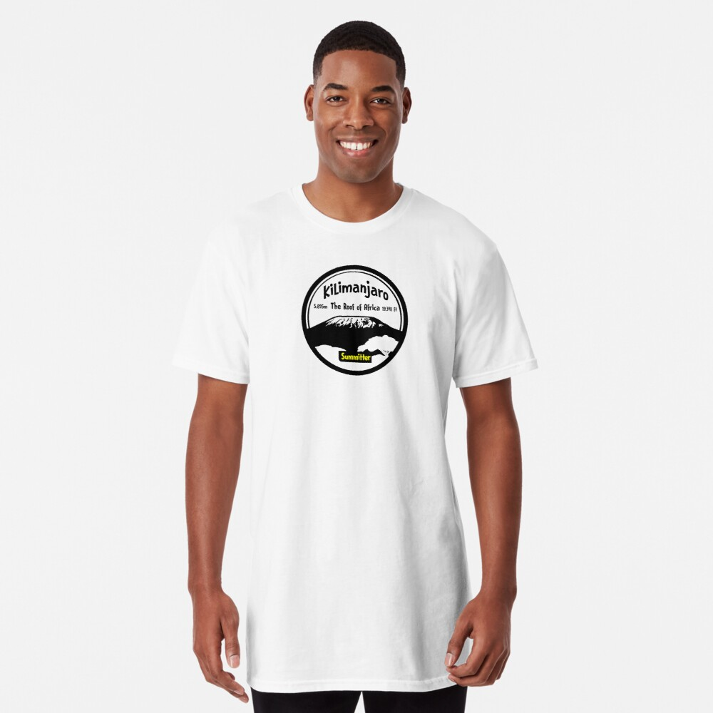 Kilimanjaro Summitter - The Roof of Africa Long T-Shirt