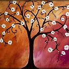 Abstract Tree by Peggy Garr