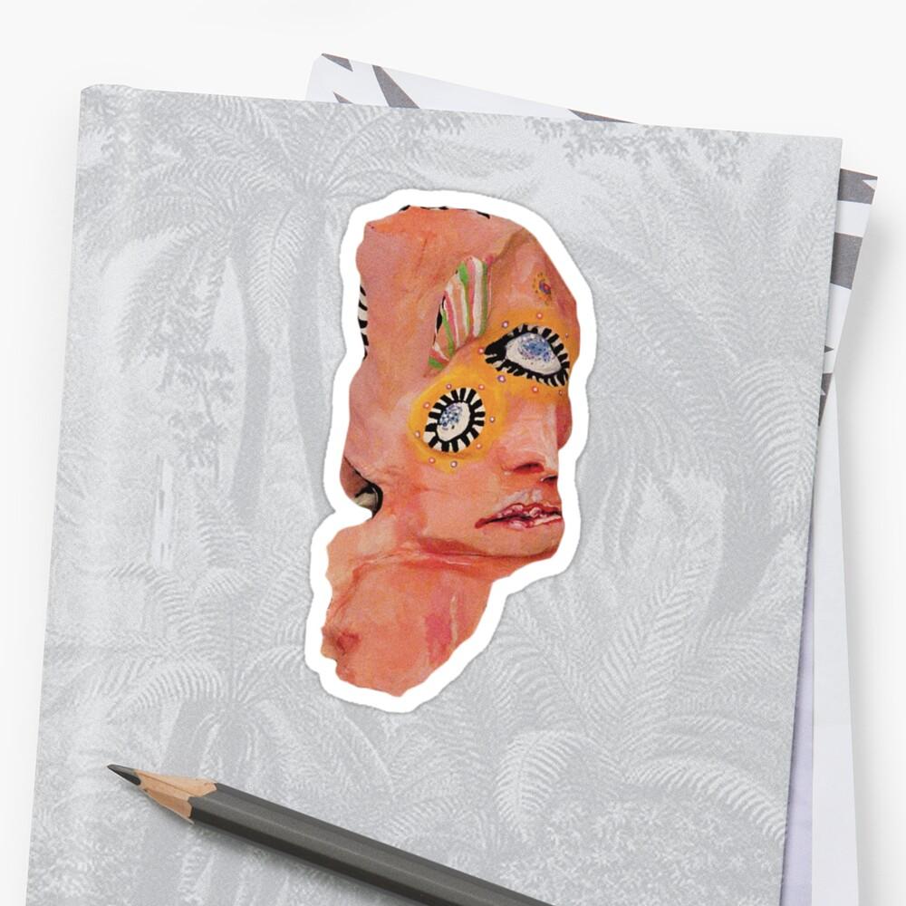 Melophobia Sticker