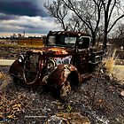 1117 Rusted Truck by WanderingWriter