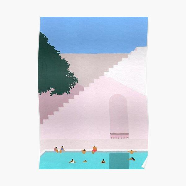 Greece Bliss Poster