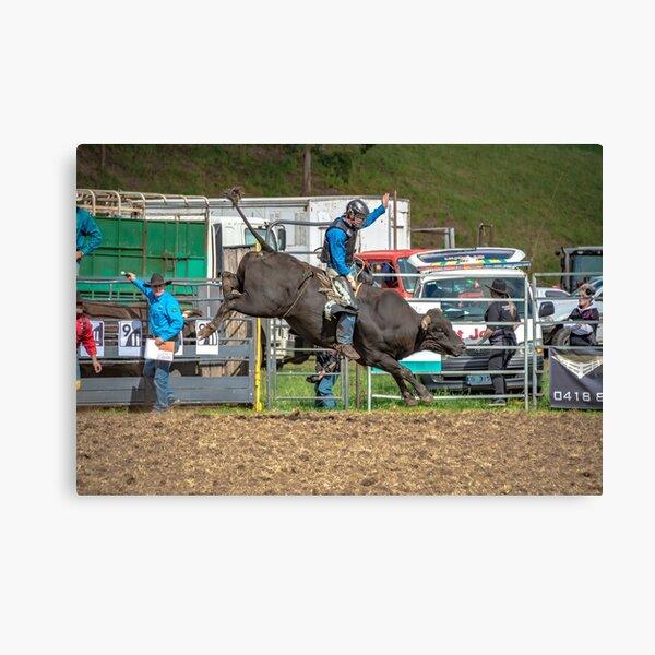 RODEOS, HORSES, COWBOYS Canvas Print