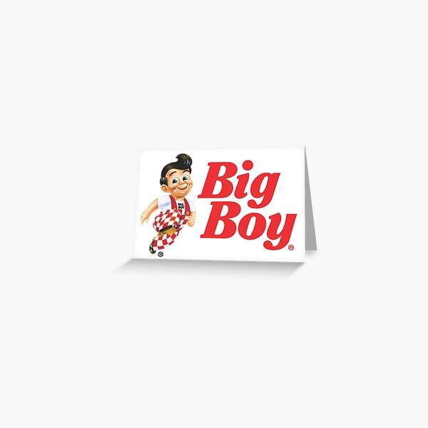 Bob's big boy Greeting Card