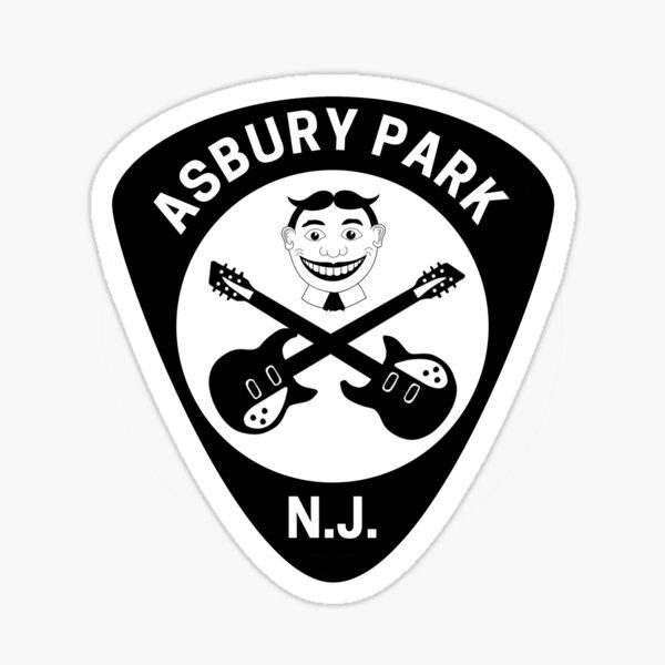 Asbury Park Tillie Guitar Pick Sticker