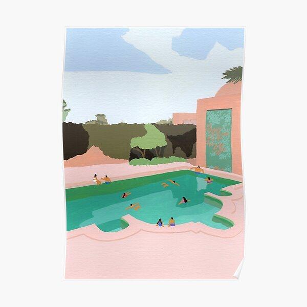 Backyard dip Poster