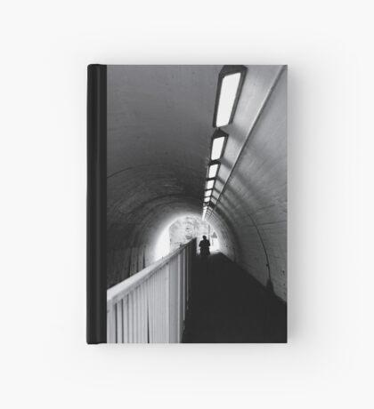 Tunnel Figure Hardcover Journal