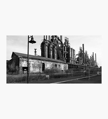 Requiem for a Steelmill Photographic Print