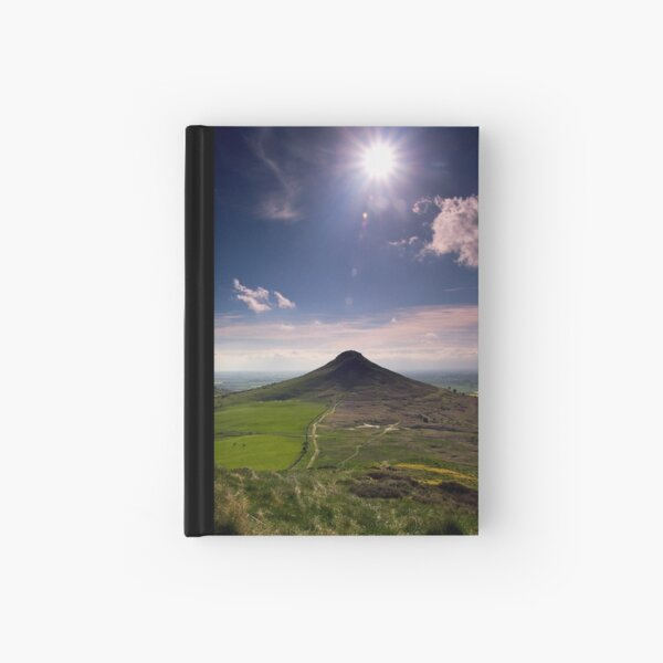 Roseberry Topping Hardcover Journal