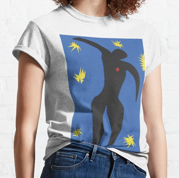 Henri Matisse, Icarus (Icare) from Jazz Collection, 1947, Artwork, Men, Women, Youth Classic T-Shirt