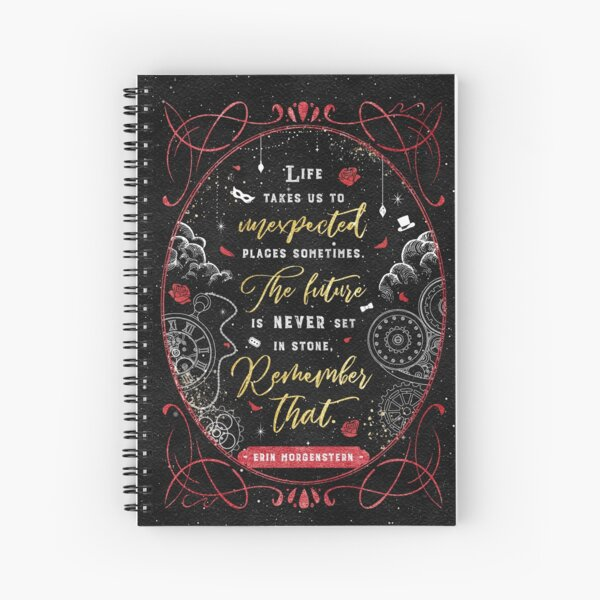 Unexpected Places Spiral Notebook