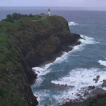 Kilauea Light House by psart