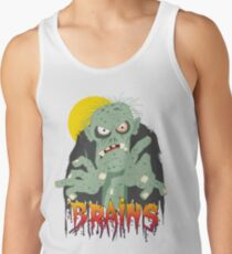 Zombie BRAINS Tank Top