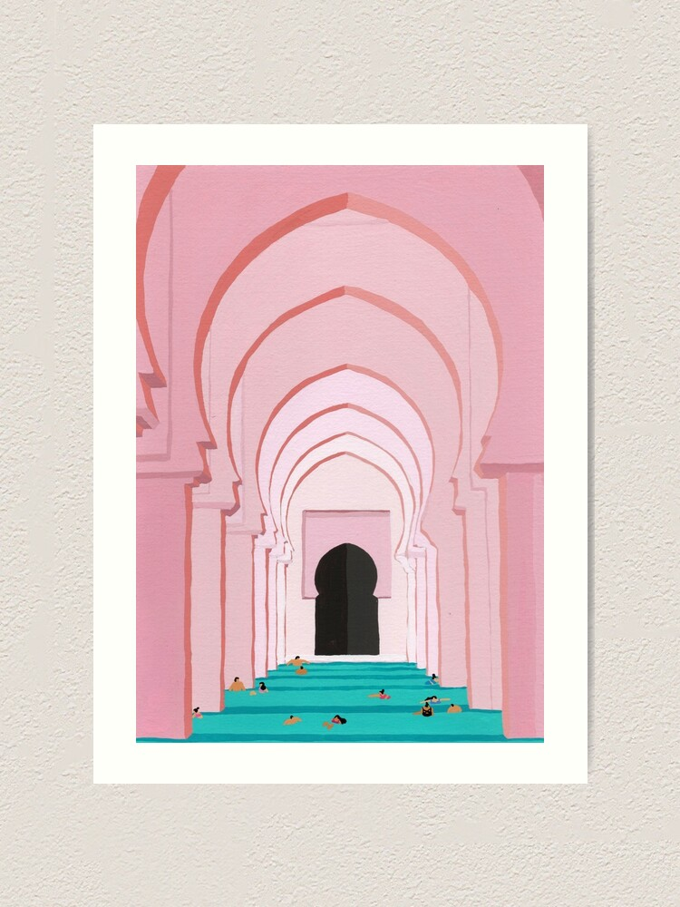 Alternate view of Arches Art Print
