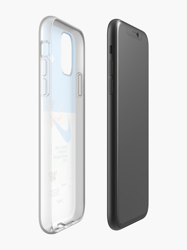 Alternate view of off white USA iPhone Case & Cover