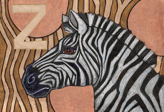 Z is for Zebra by Lynnette Shelley