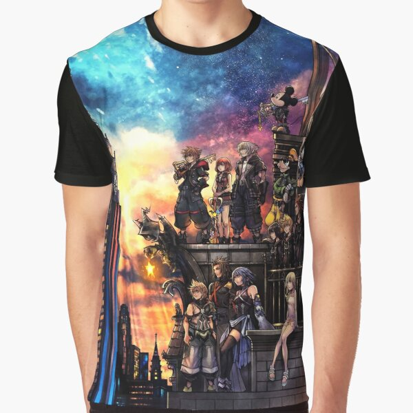 Kingdom Hearts 3 Cover Graphic T-Shirt