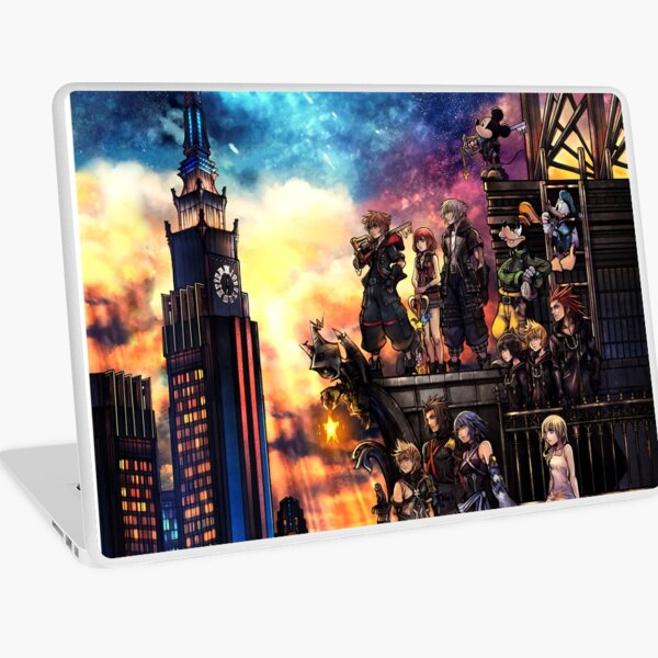 Kingdom Hearts 3 Cover Laptop Skin