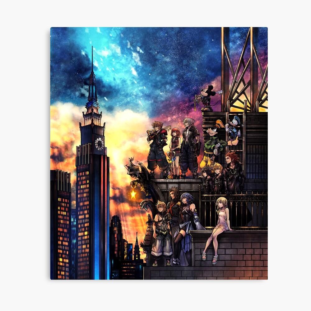Portada de Kingdom Hearts 3 Lienzo