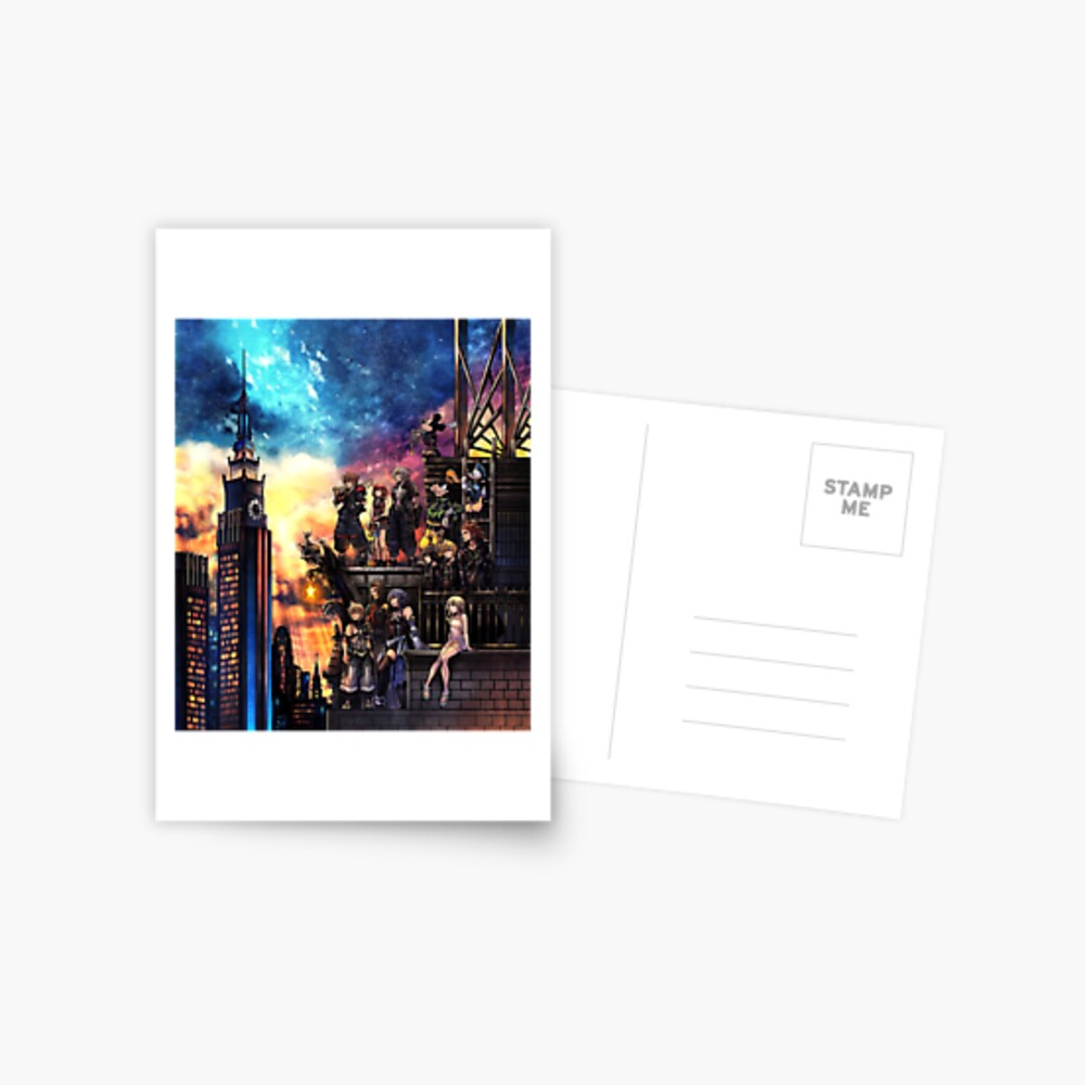 Portada de Kingdom Hearts 3 Postal