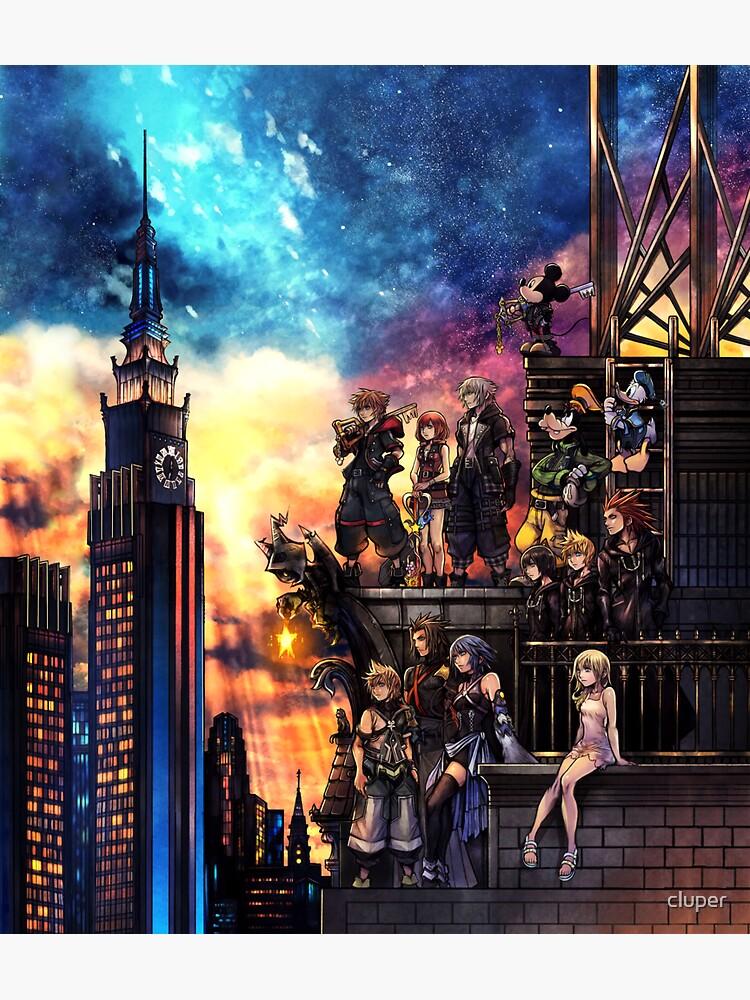 Portada de Kingdom Hearts 3 de cluper