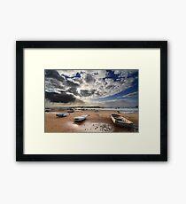Shore leave Framed Print