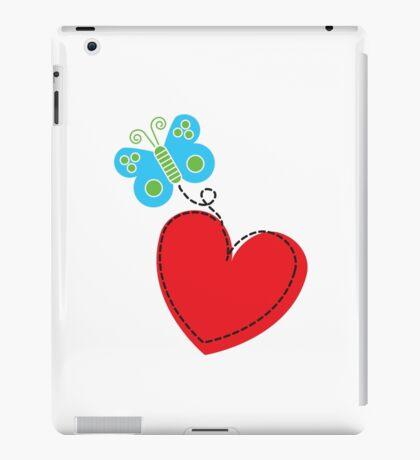 Valentine Butterfly [Light Background] iPad Case/Skin