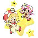 « Toad & Toadette » par mimikaweb