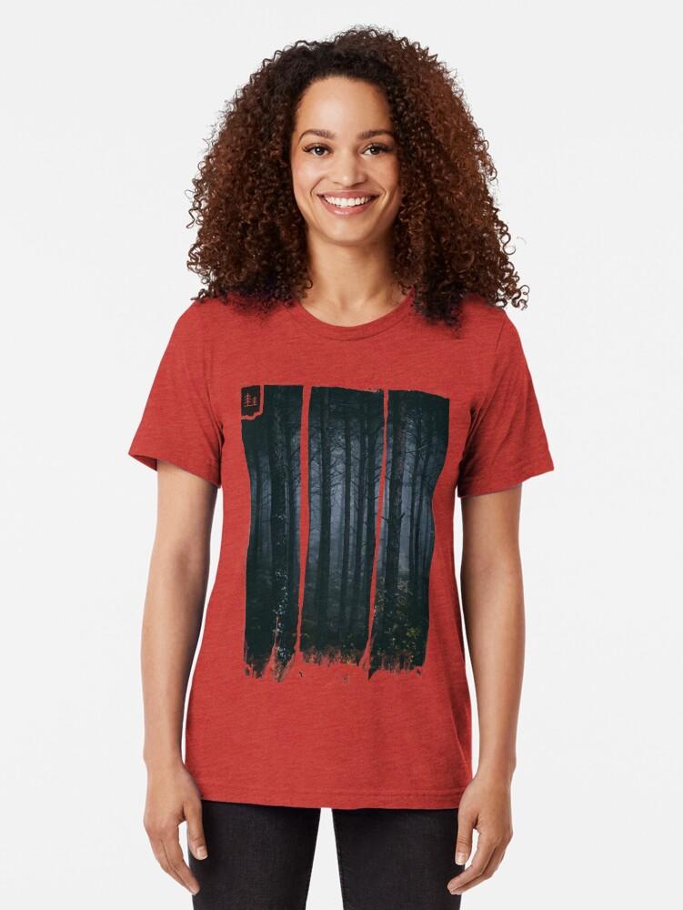 Alternative Ansicht von Blinde Geister Vintage T-Shirt