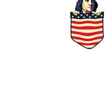 Benjamin Franklin Chest Pocket by idaspark