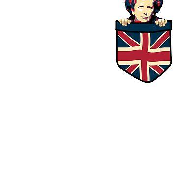 Margaret Thatcher Chest Pocket by idaspark
