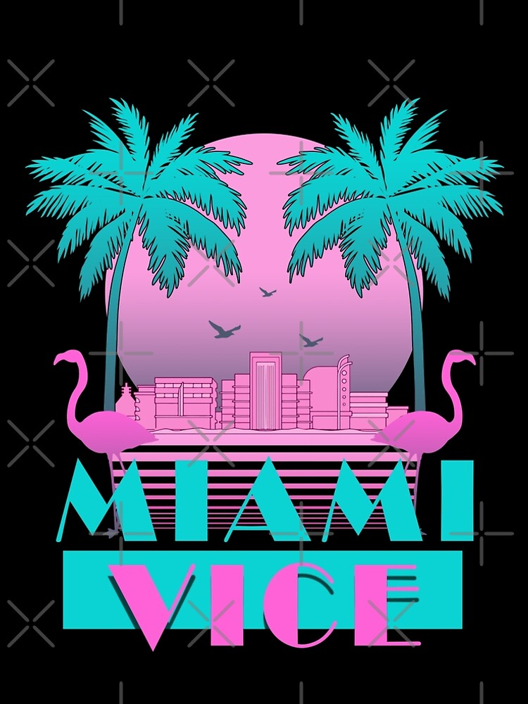 Miami Vice - Retro 80s Design by KelsoBob