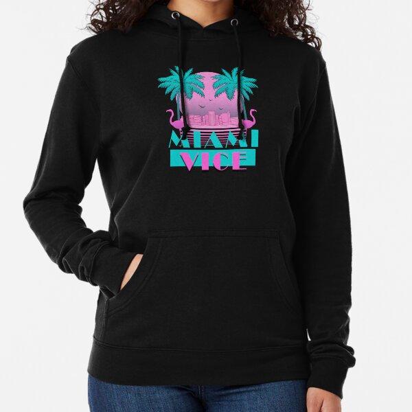 Miami Vice - Design rétro des années 80 Sweat à capuche léger