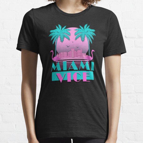 Miami Vice - Retro 80s Design Essential T-Shirt