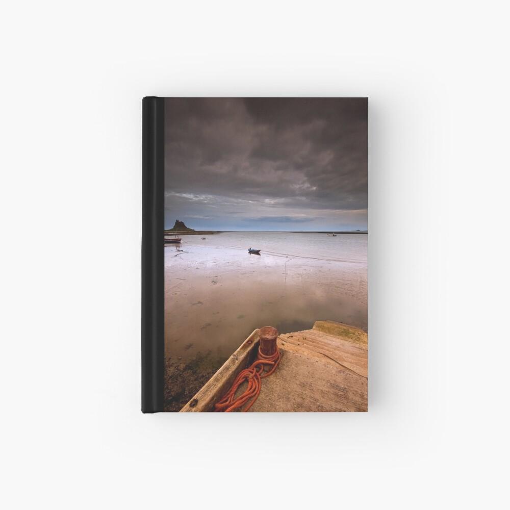 Gloomy Lindisfarne Hardcover Journal