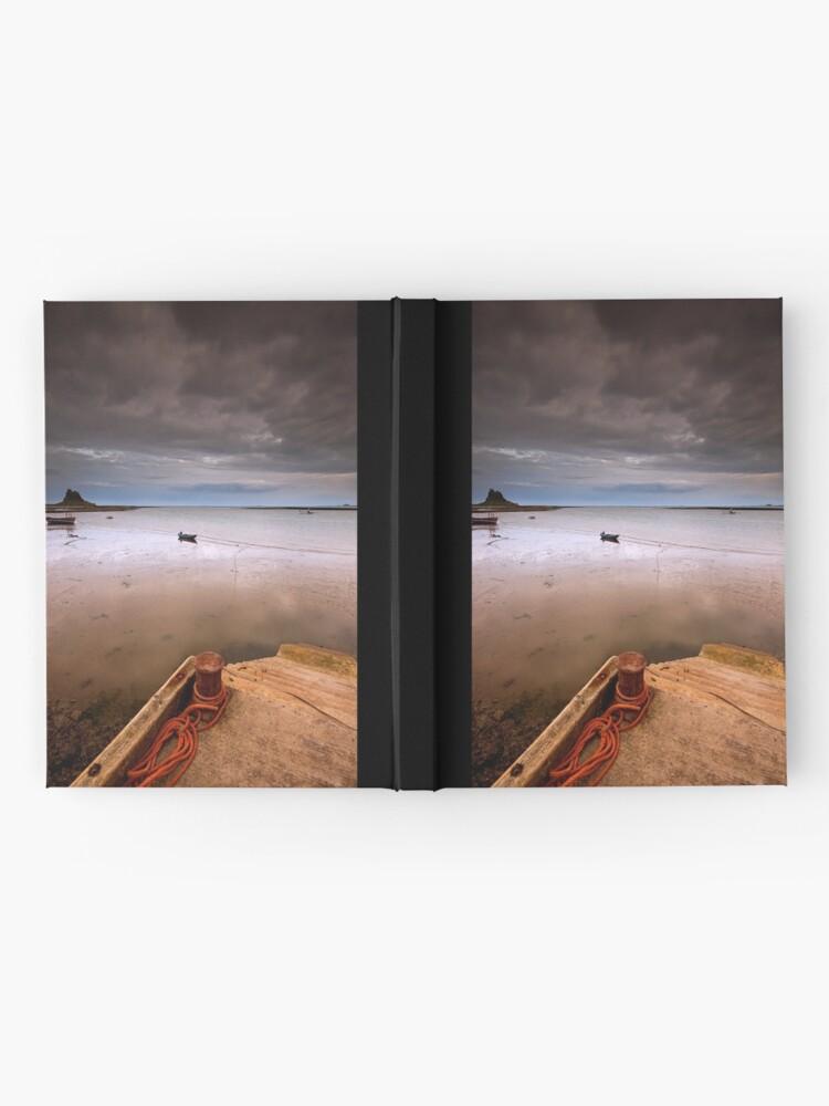 Alternate view of Gloomy Lindisfarne Hardcover Journal
